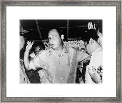 Pedro Joaquin Chamorro 1924-1978 Framed Print by Everett