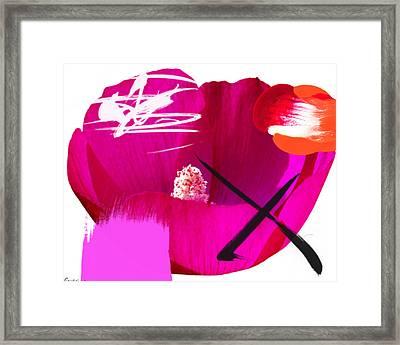 Pedro's Sister Framed Print by Geronimo