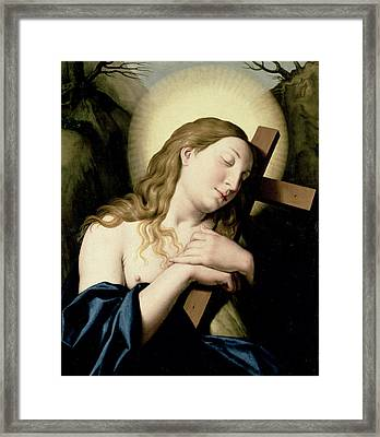 Penitent Magdalene Framed Print by Il Sassoferrato