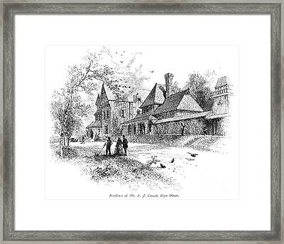 Pennsylvania: House, 1876 Framed Print by Granger