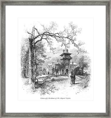 Pennsylvania: Mansion Framed Print by Granger