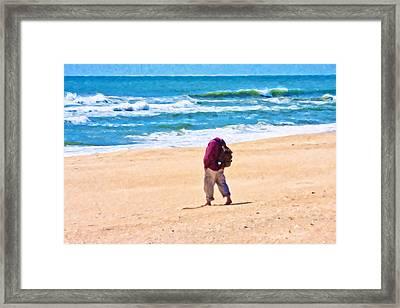 Perception Framed Print by Betsy C Knapp