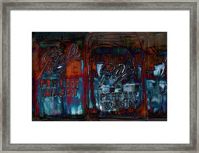 Perfect Mason Framed Print by Ron Jones