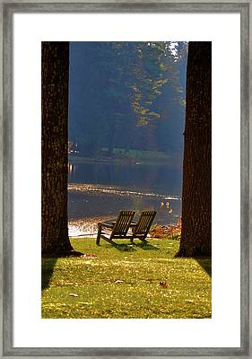 Perfect Morning Place Framed Print by Bill Cannon
