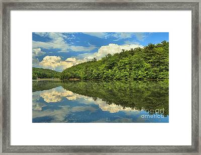 Perfect Reflections Framed Print by Adam Jewell