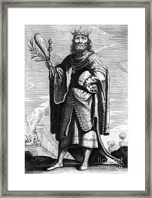 Periander, Sage Of Greece Framed Print by Science Source