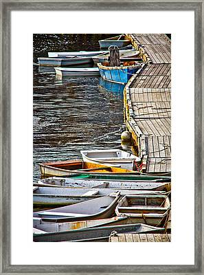 Perkins Cove Framed Print by Robert Clifford