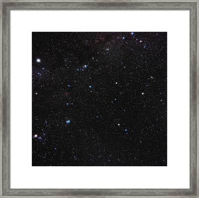 Perseus Constellation Framed Print by Eckhard Slawik
