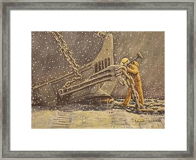 Perseverance Framed Print by Carey MacDonald