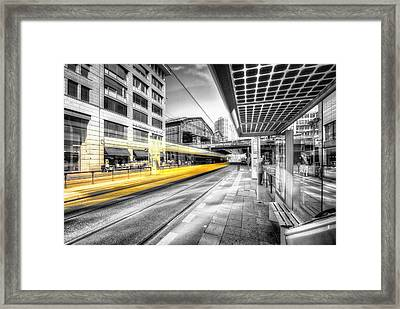 Perspective Colorkey Framed Print by Marcus Klepper