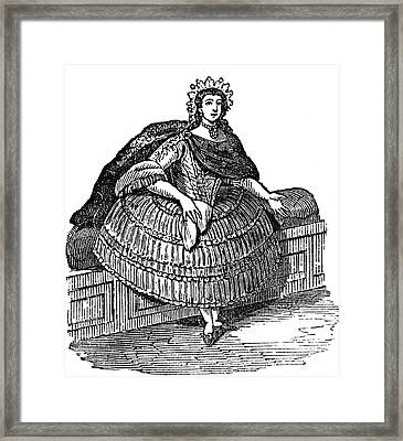 Peruvian Lady, C1850 Framed Print by Granger