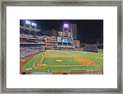 Petco Park San Diego Padres Framed Print by RJ Aguilar