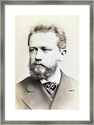Peter Ilich Tchaikovsky 1840-1893 Framed Print by Everett