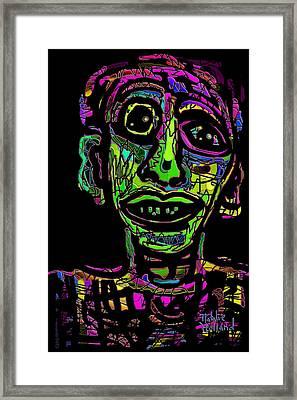 Peter Framed Print by Natalie Holland