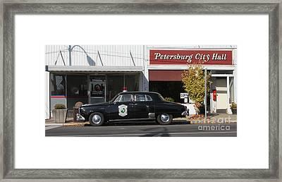 Petersburg Indiana Framed Print by Jack  R Brock