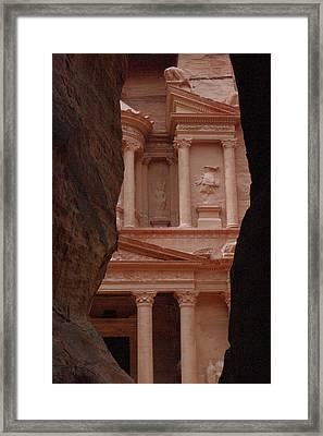 Petra Framed Print by David George