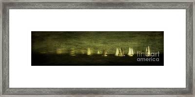 Phantom Fleet Framed Print by Andrew Paranavitana