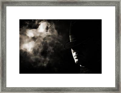 Phantom Framed Print by Monte Arnold