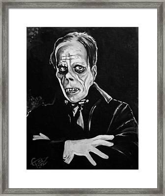Phantom Framed Print by Tom Carlton