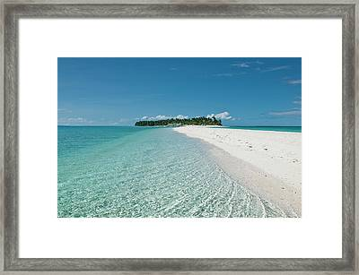 Philippines, Calangaman Island Framed Print by Photo by Karl Lundholm
