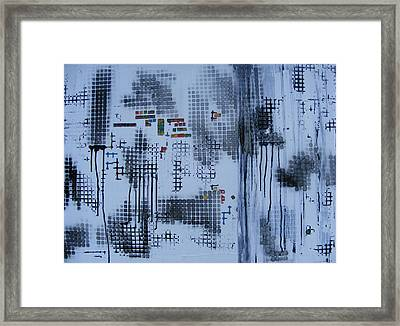 Philosophy With Surface Framed Print by Pam Tapp