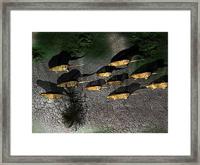 Phoberomys Pattersoni, Prehistoric Rodent Framed Print by Christian Darkin