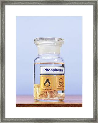 Phosphorus Framed Print by Andrew Lambert Photography