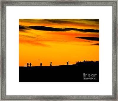 Photo Club Sunrise Framed Print by Harry Strharsky