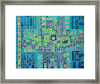 Photosynthesis Framed Print by Ethel Vrana
