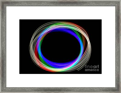 Physiogram Four Framed Print by Richard Thomas