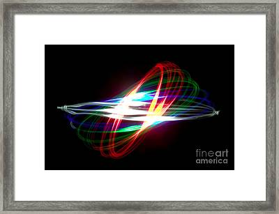 Physiogram Framed Print by Richard Thomas