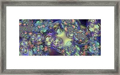 Phytoplankton Framed Print by Ron Bissett