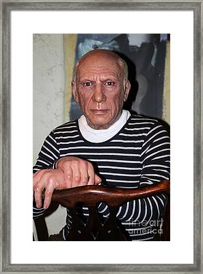 Picasso Framed Print by Sophie Vigneault