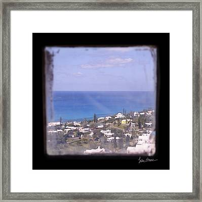Picture A Moment Framed Print by Luke Moore