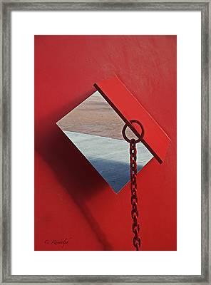 Pierced Framed Print by Cheri Randolph