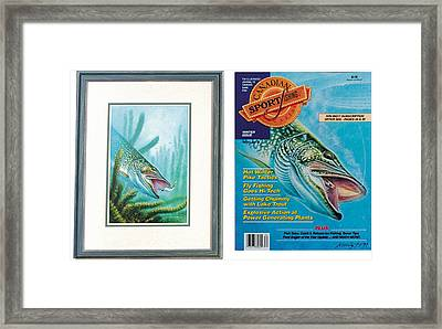 Pike And Cover Framed Print by JQ Licensing