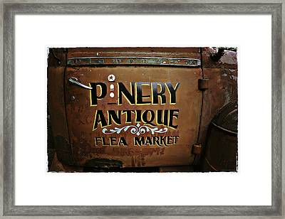 Pinery Framed Print by Jerry Golab