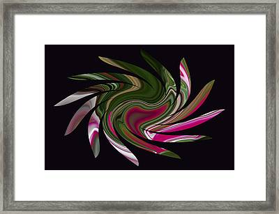 Pink Heart Sun Framed Print by Aimee L Maher Photography and Art Visit ALMGallerydotcom