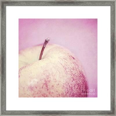 Pink Lady Framed Print by Priska Wettstein