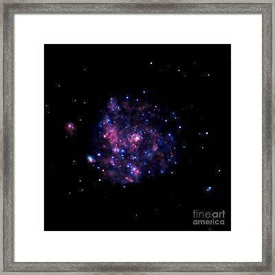 Pinwheel Galaxy Framed Print by Nasa