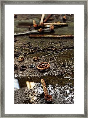 Pipes Framed Print by HD Connelly