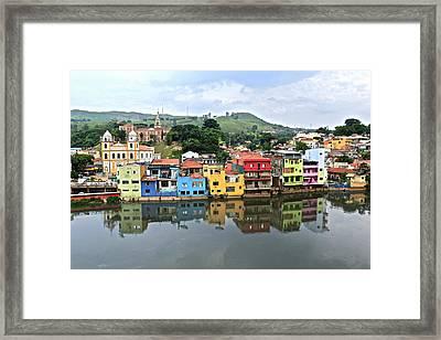 Pirapora De Bom Jesus, Brazil Framed Print by Arthur Gonoretzky