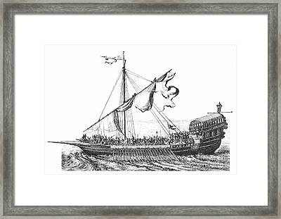 Pirates: Barbary Coast Framed Print by Granger