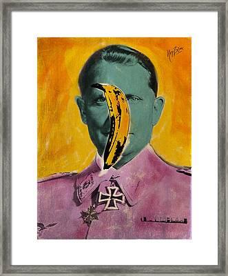 Pisang Goering Framed Print by Nop Briex