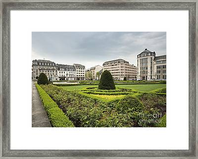 Place Des Martyrs, Luxembourg City, Luxembourg, Europe Framed Print by Jon Boyes