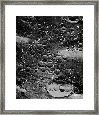 Planned Landing Site, Fra Mauro Area Framed Print by NASA / Science Source
