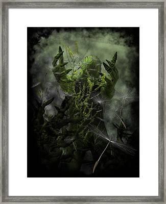 Plant Man Cometh Framed Print by Michael Knight