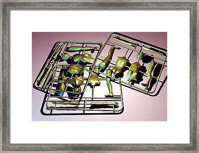 Plastic Female Body Kits Framed Print by Christian Darkin