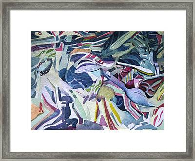 Plastic Torment Framed Print by Mindy Newman