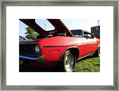 Plymouth Framed Print by Scott Hovind